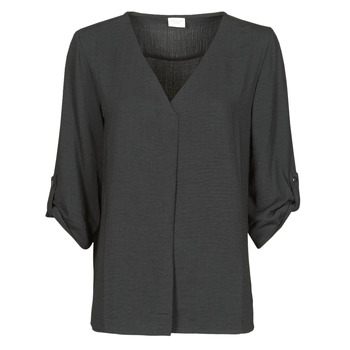 textil Mujer Tops / Blusas JDY JDYDIVYA 3/4 TOP WVN NOOS Negro