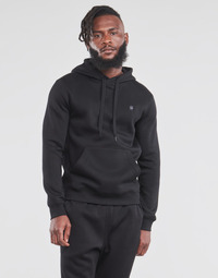 textil Hombre Sudaderas G-Star Raw PREMIUM BASIC HOODED SWEATE Negro