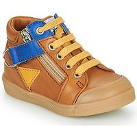 Zapatos Niño Zapatillas altas GBB TIMOTHE Marrón