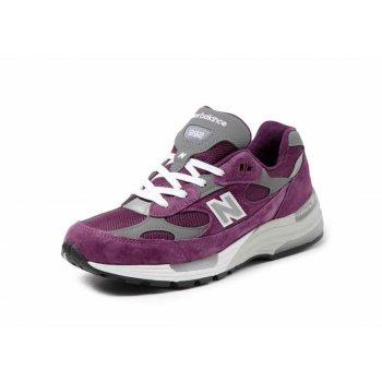 Zapatos Zapatillas bajas New Balance 992 Purple Grey Purple / Grey