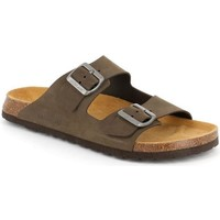 Zapatos Hombre Zuecos (Mules) Grunland DSG-CB3005 TAUPE