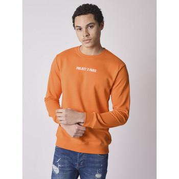 textil Hombre Sudaderas Project X Paris  Naranja