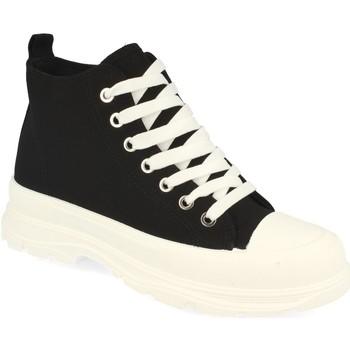 Zapatos Mujer Zapatillas altas Benini 21001 Negro
