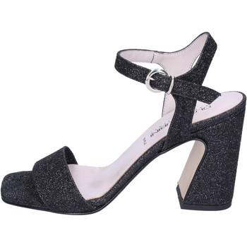 Zapatos Mujer Sandalias Olga Rubini Sandalias Glitter Negro