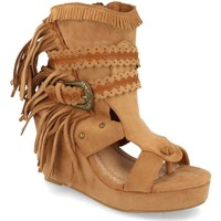 Zapatos Mujer Botines H&d YZ19-239 Camel