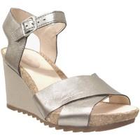 Zapatos Mujer Sandalias Clarks Flex sun Gris metal