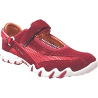 Zapatos Mujer Slip on Allrounder by Mephisto Niro filet Terciopelo rojo