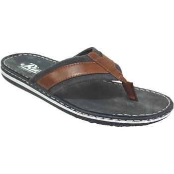 Zapatos Hombre Chanclas Rieker 21095 Azul marino/Narron