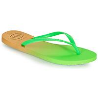 Zapatos Mujer Chanclas Havaianas SLIM GRADIENT Blanco / Verde