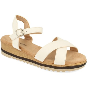 Zapatos Mujer Sandalias Prisska YX8267 Blanco