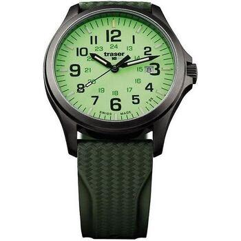 Relojes & Joyas Hombre Relojes analógicos Traser H3 107424, Quartz, 42mm, 10ATM Negro