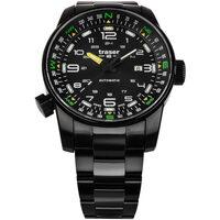 Relojes & Joyas Hombre Relojes analógicos Traser H3 109522, Automatic, 46mm, 10ATM Negro