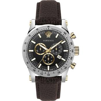 Relojes & Joyas Hombre Relojes analógicos Versace VEV800119, Quartz, 44mm, 5ATM Plata