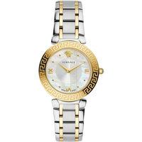 Relojes & Joyas Mujer Relojes analógicos Versace V16060017, Quartz, 35mm, 3ATM Oro