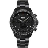 Relojes & Joyas Hombre Relojes analógicos Traser H3 109466, Quartz, 46mm, 10ATM Negro