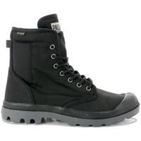 Zapatos Mujer Zapatillas altas Palladium Manufacture Pampa Solid Ranger Grises