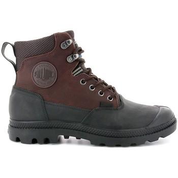 Zapatos Hombre Botas de caña baja Palladium Manufacture Pampa Sport Cuff WP 20 Marrón