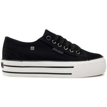 Zapatos Mujer Zapatillas bajas Big Star HH274056 Blanco, Negros