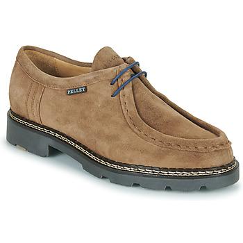 Zapatos Hombre Derbie Pellet Macho Beige