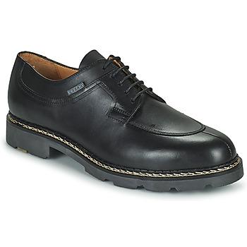 Zapatos Hombre Derbie Pellet Montario Negro