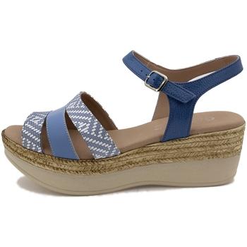 Zapatos Mujer Sandalias Gasymar 1493 Azul
