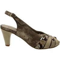 Zapatos Mujer Sandalias Gasymar 4253 Marrón