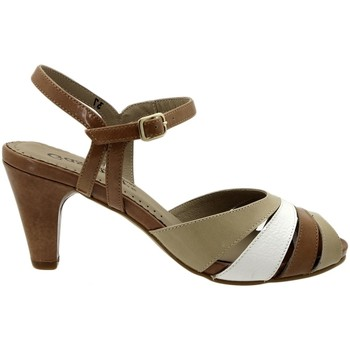 Zapatos Mujer Sandalias Gasymar 4257 Marrón