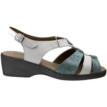 Zapatos Mujer Sandalias Gasymar 4572 Blanco