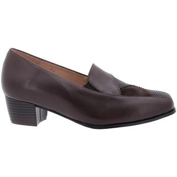 Zapatos Mujer Mocasín Gasymar 5110 Marrón