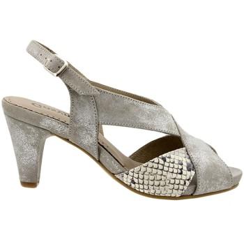 Zapatos Mujer Sandalias Gasymar 6255 Plata