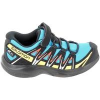 Zapatos Zapatillas bajas Salomon Xa Pro 3D CSWP C Bleu Noir Azul