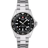 Relojes & Joyas Hombre Relojes analógicos Swiss Alpine Military 7052.1137, Quartz, 42mm, 10ATM Plata
