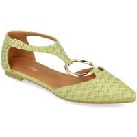 Zapatos Mujer Bailarinas-manoletinas Prisska YJ8385 Verde