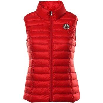 textil Mujer Plumas JOTT Chaquetas SEDA - Mujer roja