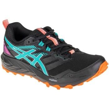 Zapatos Mujer Running / trail Asics Gelsonoma 6 Azul, Grafito