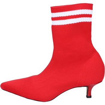 Zapatos Mujer Botines Olga Rubini BJ427 Rojo