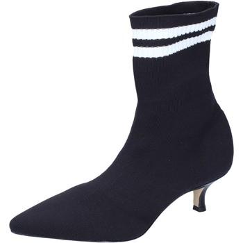 Zapatos Mujer Botines Olga Rubini Botines Textil Negro