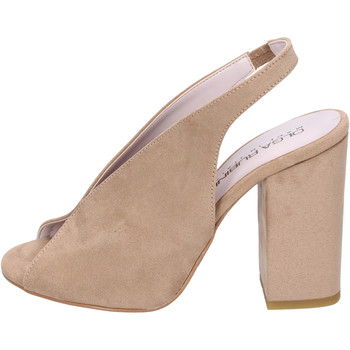 Zapatos Mujer Sandalias Olga Rubini BJ430 Beige