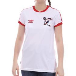 textil Niña Camisetas manga corta Umbro  Blanco