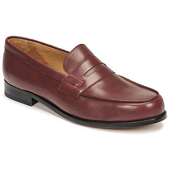Zapatos Hombre Mocasín Pellet Colbert Rojo
