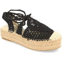 Zapatos Mujer Alpargatas H&d YZ19-58 Negro