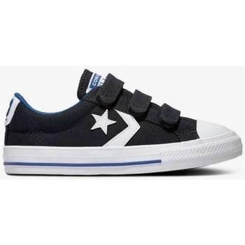 Zapatos Niños Zapatillas bajas Converse STAR PLAYER 3V OX BLACK  666948C-001 Negro