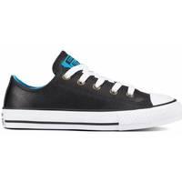 Zapatos Niños Zapatillas bajas Converse CHUCK TAYLOR ALL STAR OX BLACK/BLUE  661870C-001 Negro