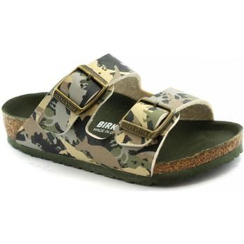 Zapatos Niños Zuecos (Mules) Birkenstock BIR-RRR-1012684-KH Verde