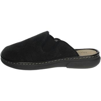 Zapatos Hombre Zuecos (Mules) Uomodue MICRO PUNTATO-31 Negro