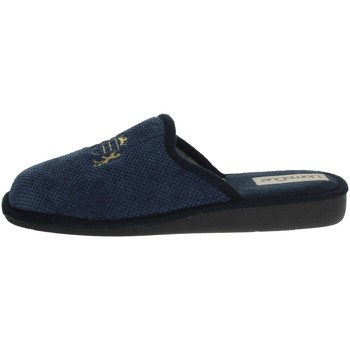 Zapatos Hombre Zuecos (Mules) Uomodue LORD-6 Azul