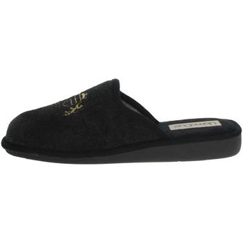 Zapatos Hombre Pantuflas Uomodue LORD-4 Negro/Gris
