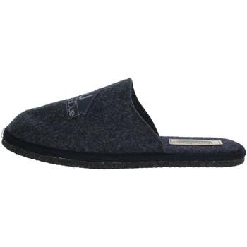 Zapatos Hombre Zuecos (Mules) Uomodue LOGO-12 Azul