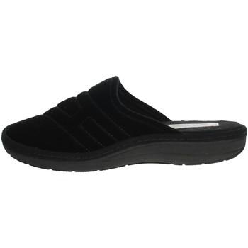 Zapatos Hombre Zuecos (Mules) Uomodue FELTRO FONT-39 Negro