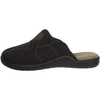 Zapatos Hombre Zuecos (Mules) Uomodue ALCANTA-3 Marrón